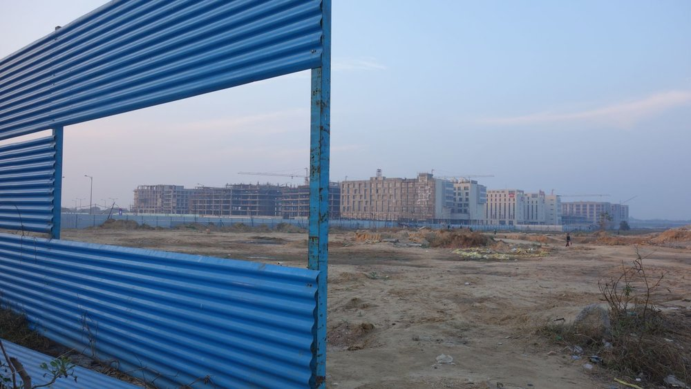 Delhi | Mahipalpur | New buildings and district | ©sandrine cohen