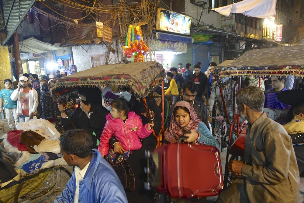 Old Delhi | Traffic Traffic in Chandni Chowk | streetphotography ©sandrine cohen