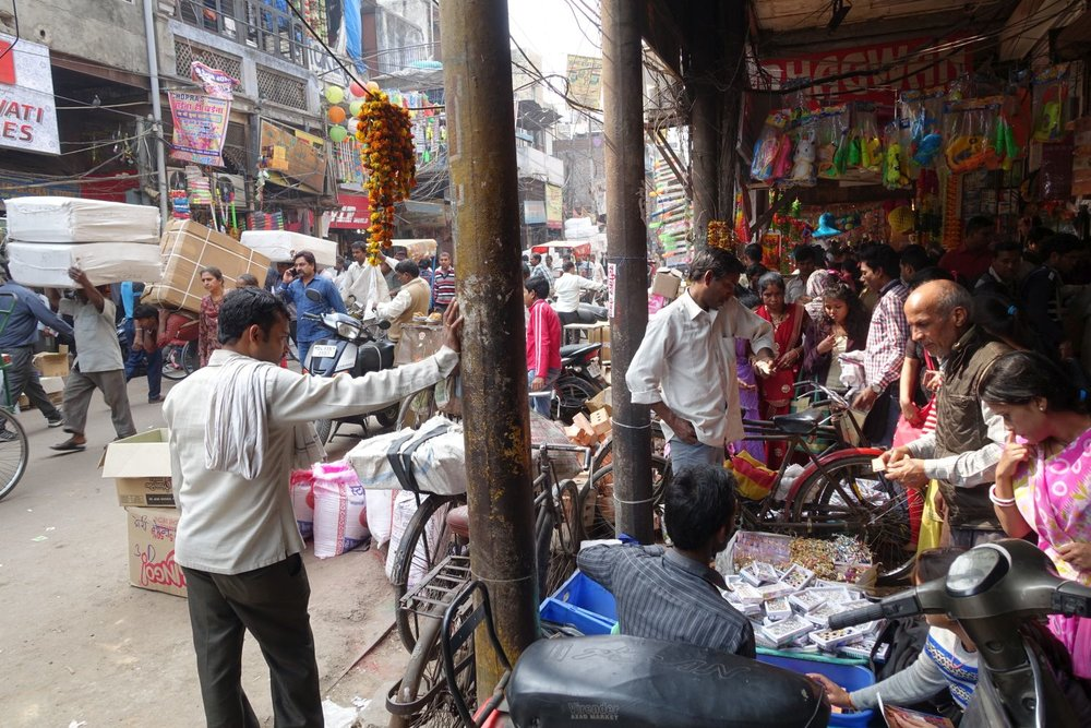 Old Delhi | street shops in Chandni Chowk | street photography ©sandrine cohen