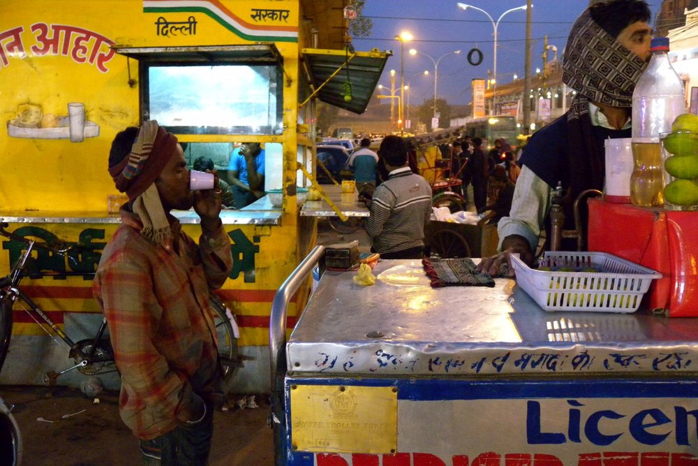 New Delhi | Connaugh Place | Indian street food | ©sandrine cohen