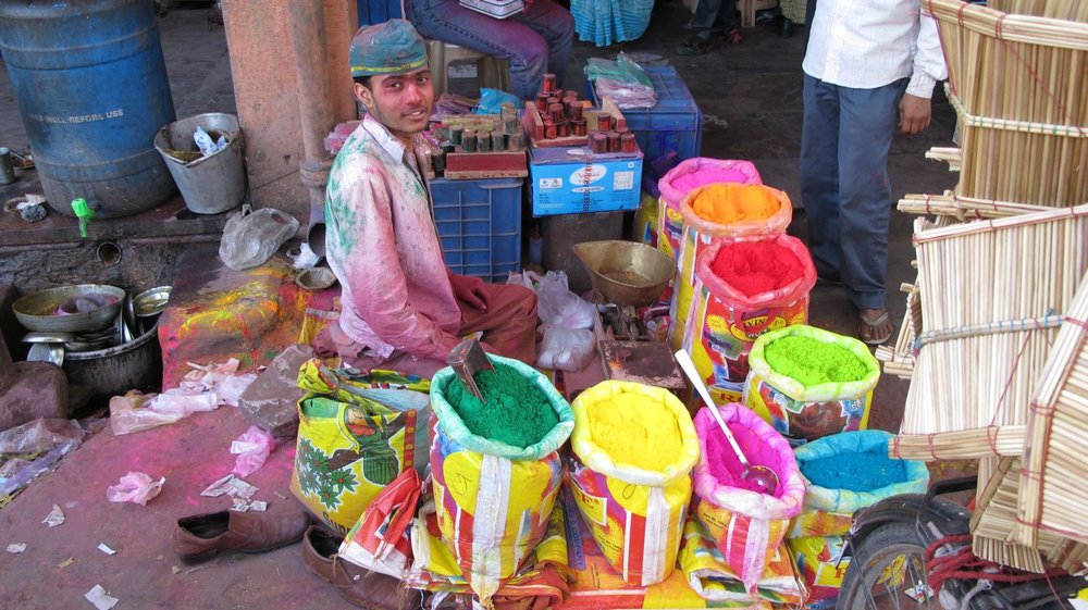 Jaipur | The Holi 4 | Feast of colors | Indian holiday | ©sandrine cohen