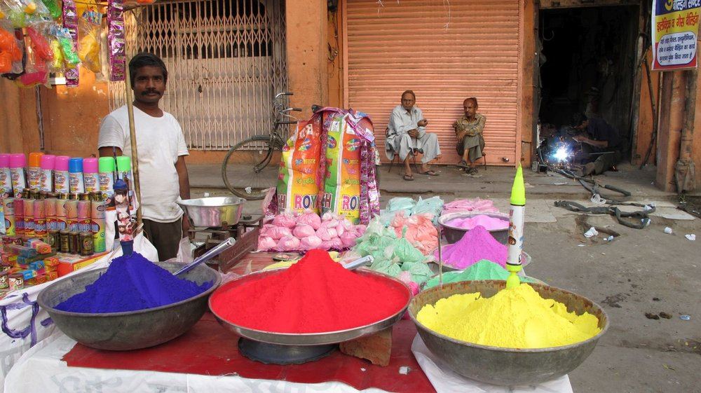 Jaipur | The Holi 5 | Feast of colors | Indian holiday | ©sandrine cohen