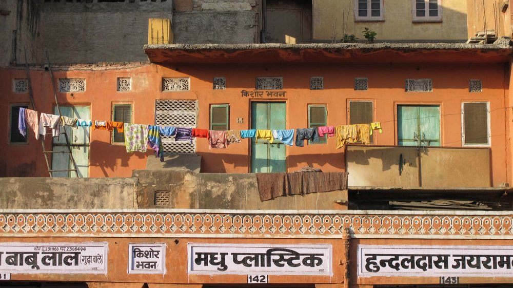 Jaipur | Pink city | Rajasthan | Indian color shutters |  Photo sandrine cohen