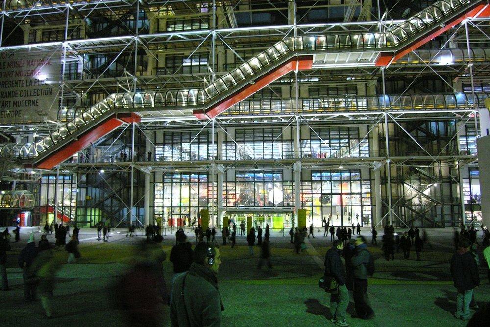 Centre Pompidou Paris | Renzo Piano, Richard Rogers architect designer | photo sandrine cohen