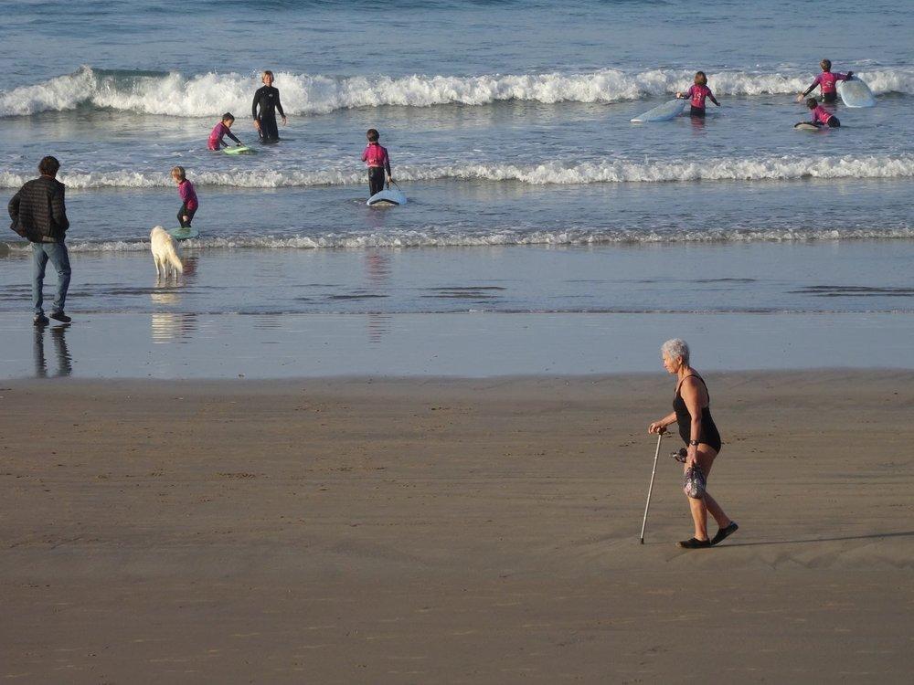 Atlantic coast | France | Traffic on the beach | Photo sandrine cohen |