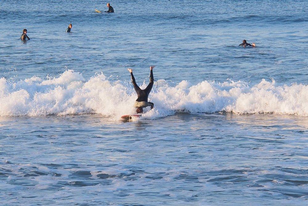 Basque coast | Surf on the head | Photo sandrine cohen