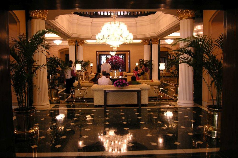Kolkata - Calcutta | The Grand Oberoi Hotel | Reception Oberoi Hotel | ©sandrine cohen