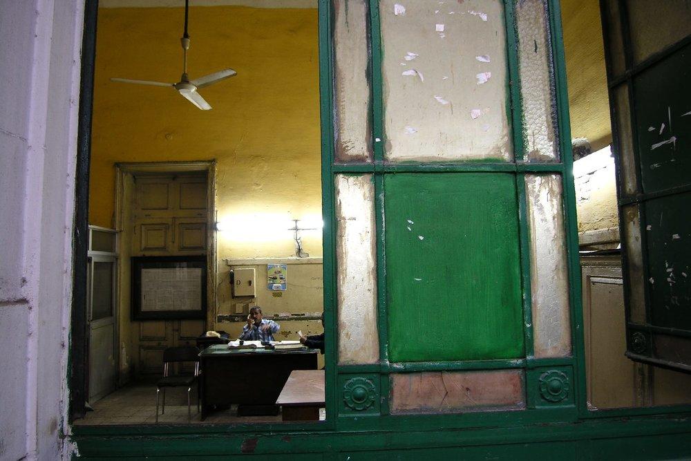 Alexandria station | Office station | station manager | Egyptian railway station | Egypt | ©sandrine cohen