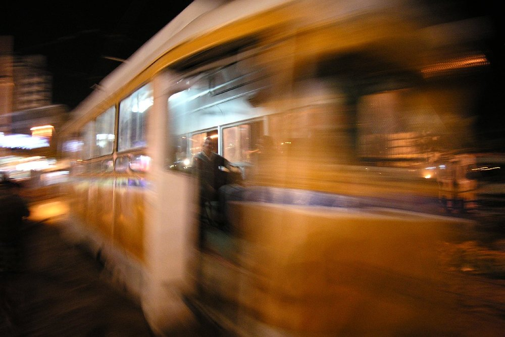 Alexandria | Alexandria tramway | Yellow tramway | Egypt | The Oldest tramway in the world | Egyptian transport | ©sandrine cohen