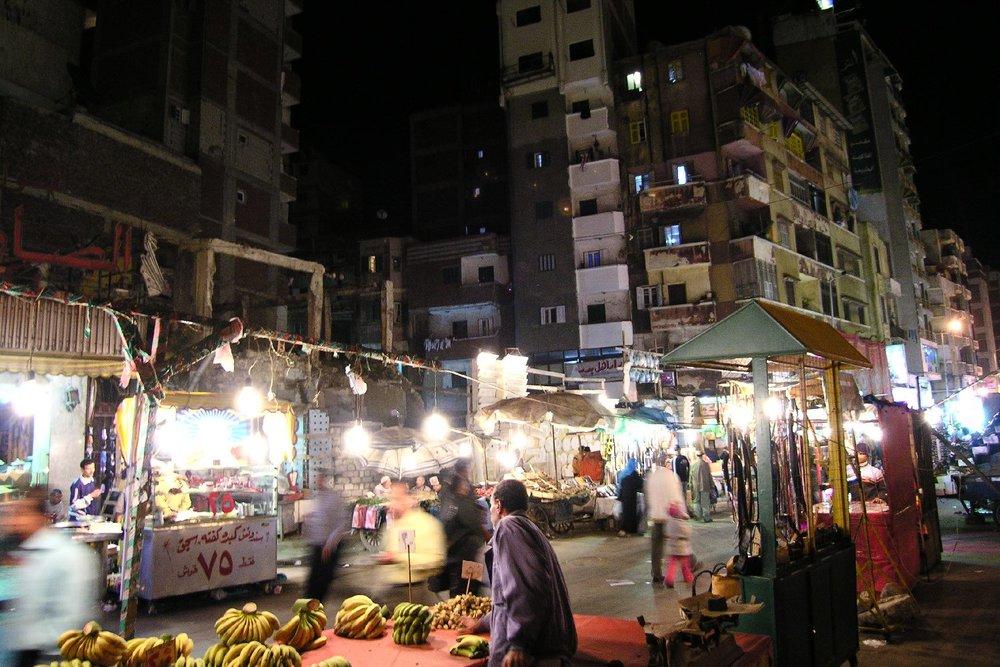 Alexandria | Egypt | On the street | Allexandria at night | ©sandrine cohen