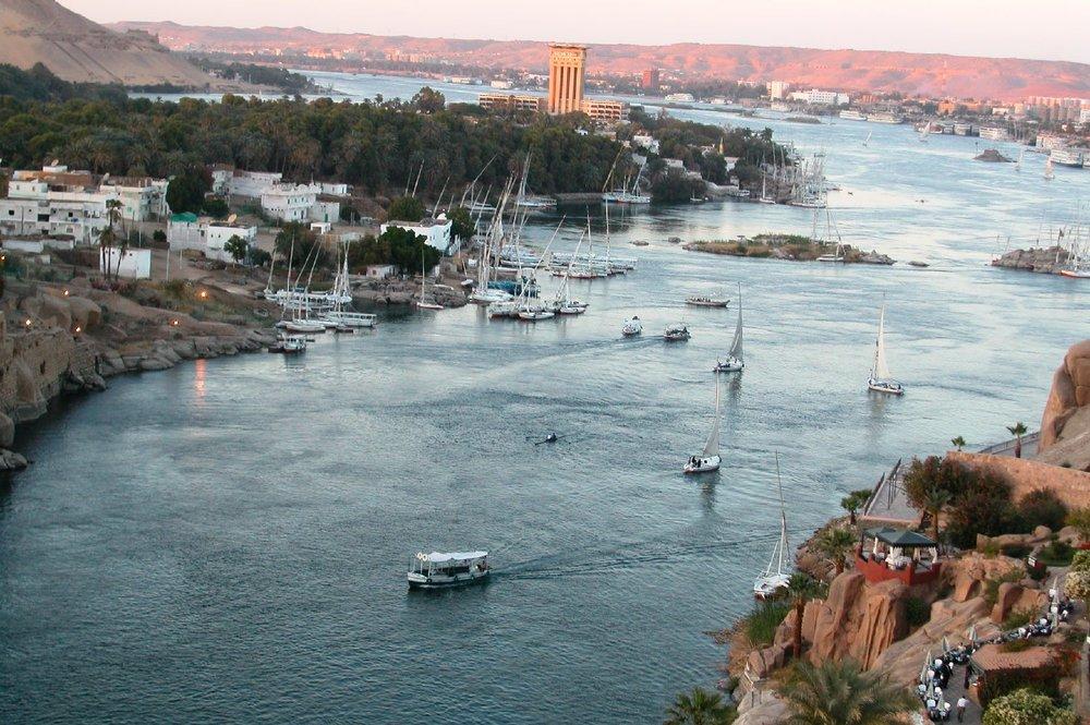 Aswan  Old Cataract Hotel  Egypt  The Nile  ©sandrine cohen