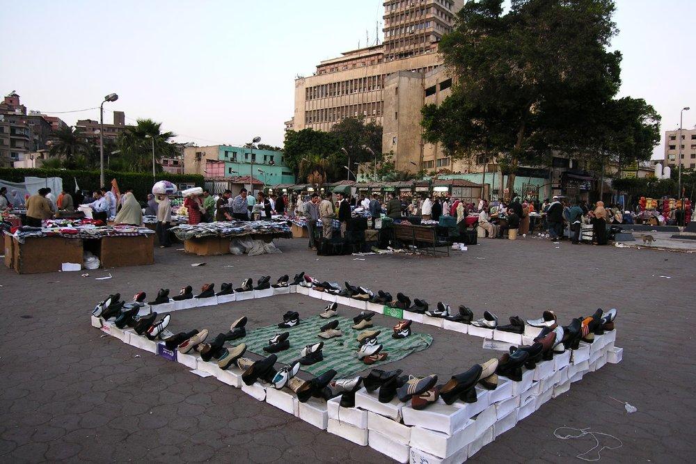 Cairo  Egypt  Shoes for sale   market shoes  streetphotography  ©sandrine cohen
