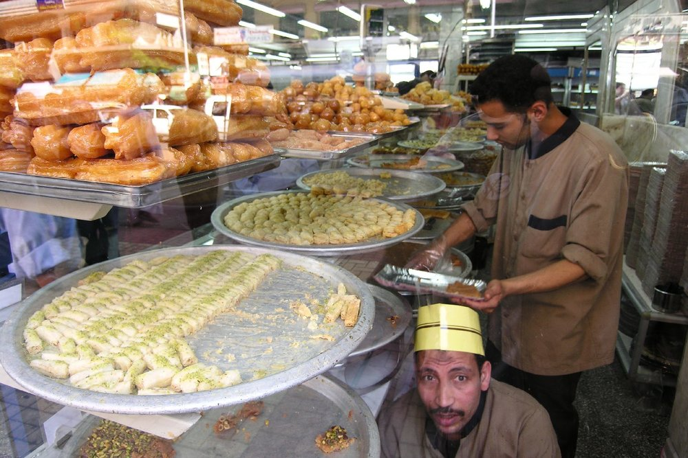 Cairo  Pastry El Abd   Egyptian sweets  ©sandrine cohen