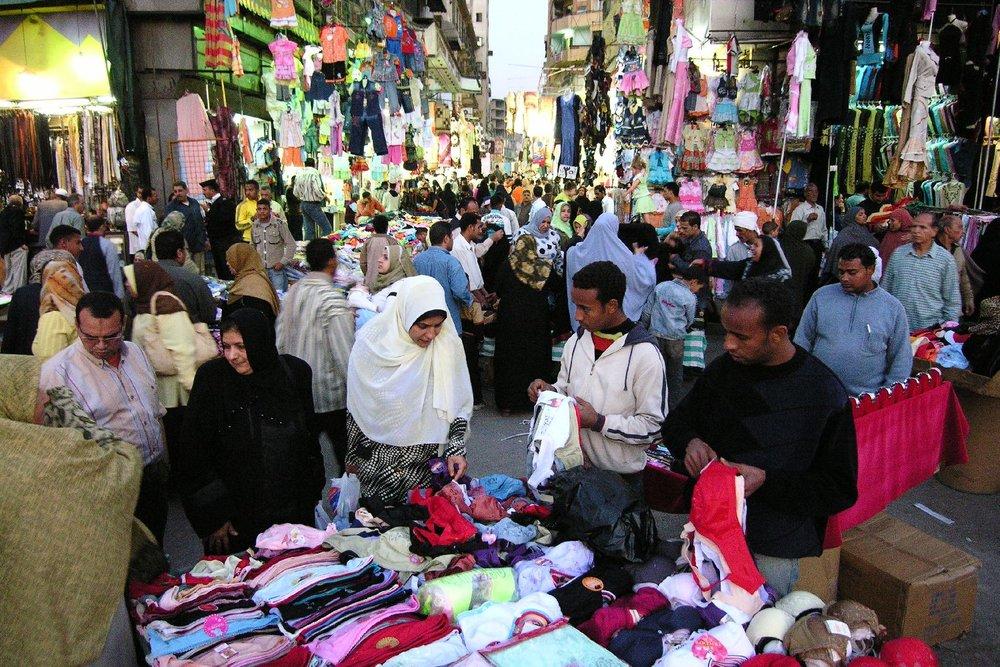 Cairo   Shopping district   Market in the street   Egypt   ©sandrine cohen