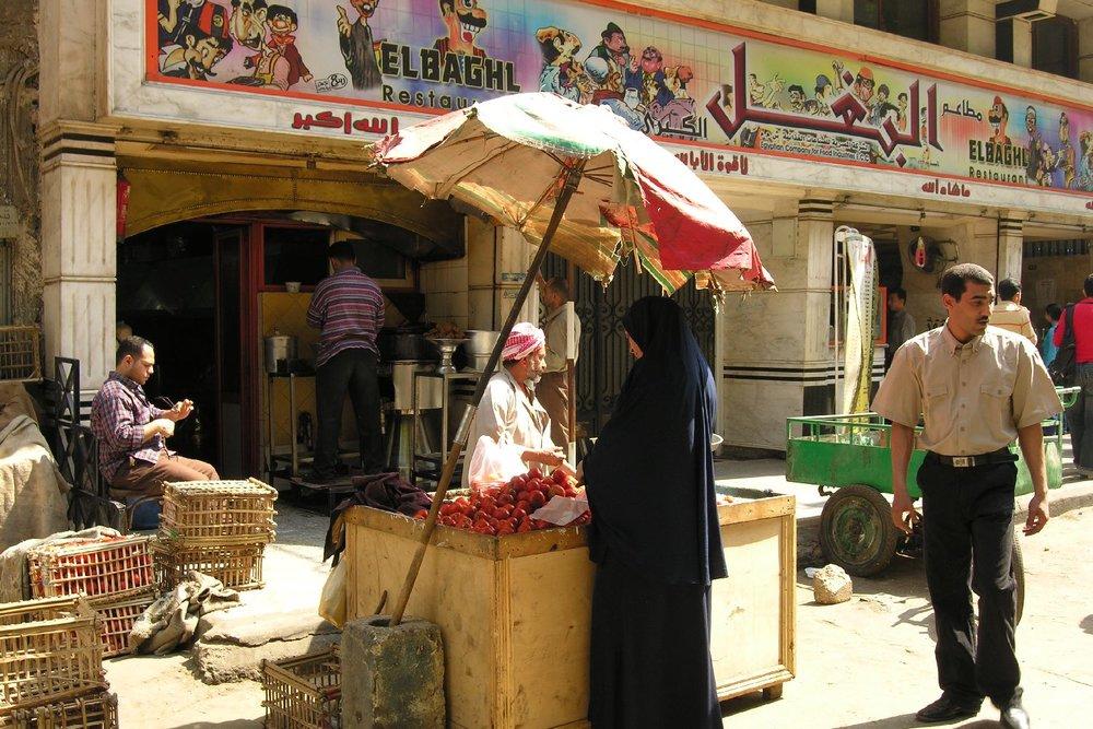 Cairo   Shopping street   Egypt   ©sandrine cohen