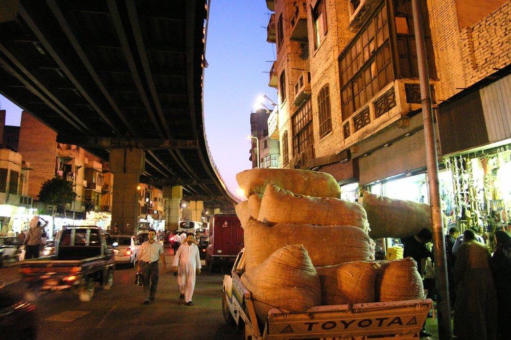 Cairo   Traffic in the center of Cairo   Egypt   ©sandrine cohen