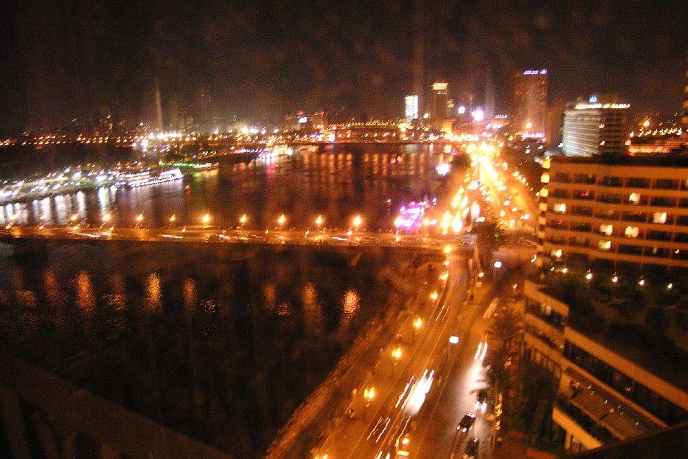 Cairo   Cairo by night   Cairo traffic   The Nile river at Cairo   ©sandrine cohen