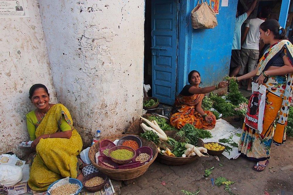 Dharavi | Mumbai - Bombay | Market | Dharavi, the biggest slum of Asia | Over one million people live in Dharavi | ©sandrine cohen