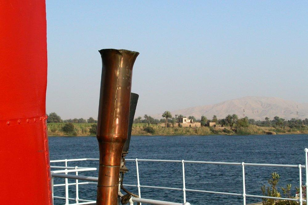 Cruise on the Nile |Egypt |Steam ship Sudan |Captain |Voyageurs du Monde |©sandrine cohen