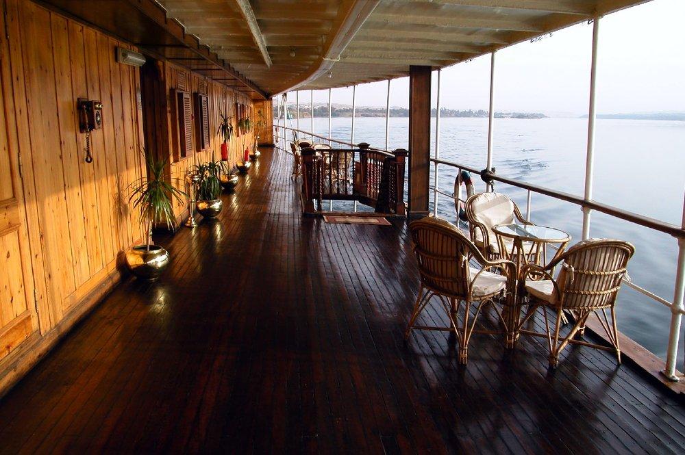 Cruise on the Nile |Egypt |Steam ship Sudan |Captain |Voyageurs du Monde | Photo sandrine cohen