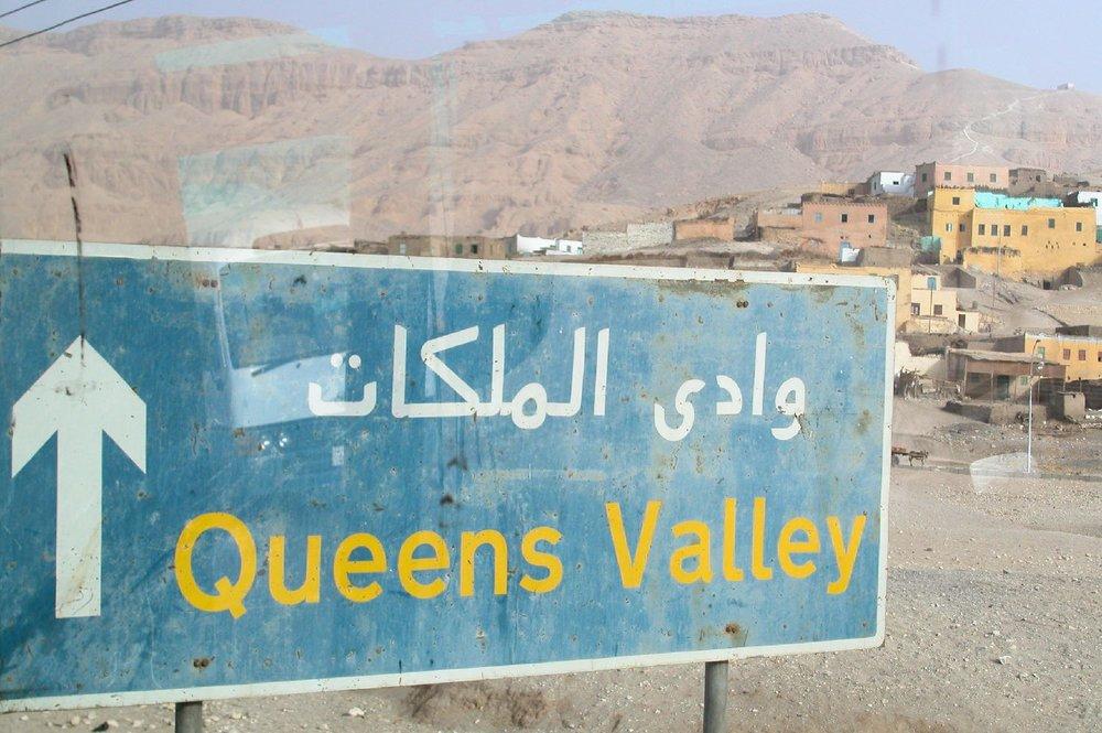 Luxor  Egypt  Queens Valley  ©sandrine cohen