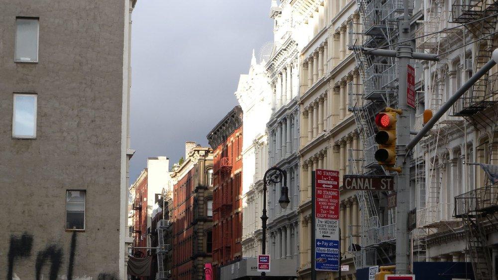 New York | Mercer street | SoHo | streetphotography sandrine cohen