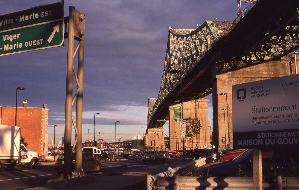 Montreal | Jacques Cartier bridge | photo sandrine cohen