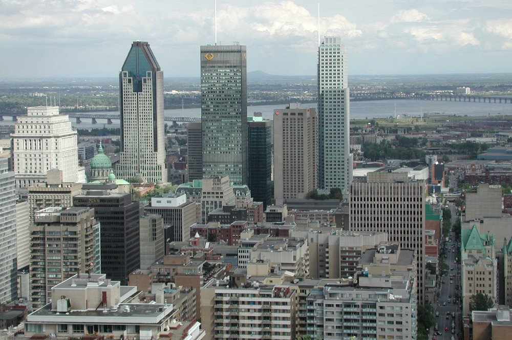 Montreal | View from Mont-Royal 2 | photo sandrine cohen