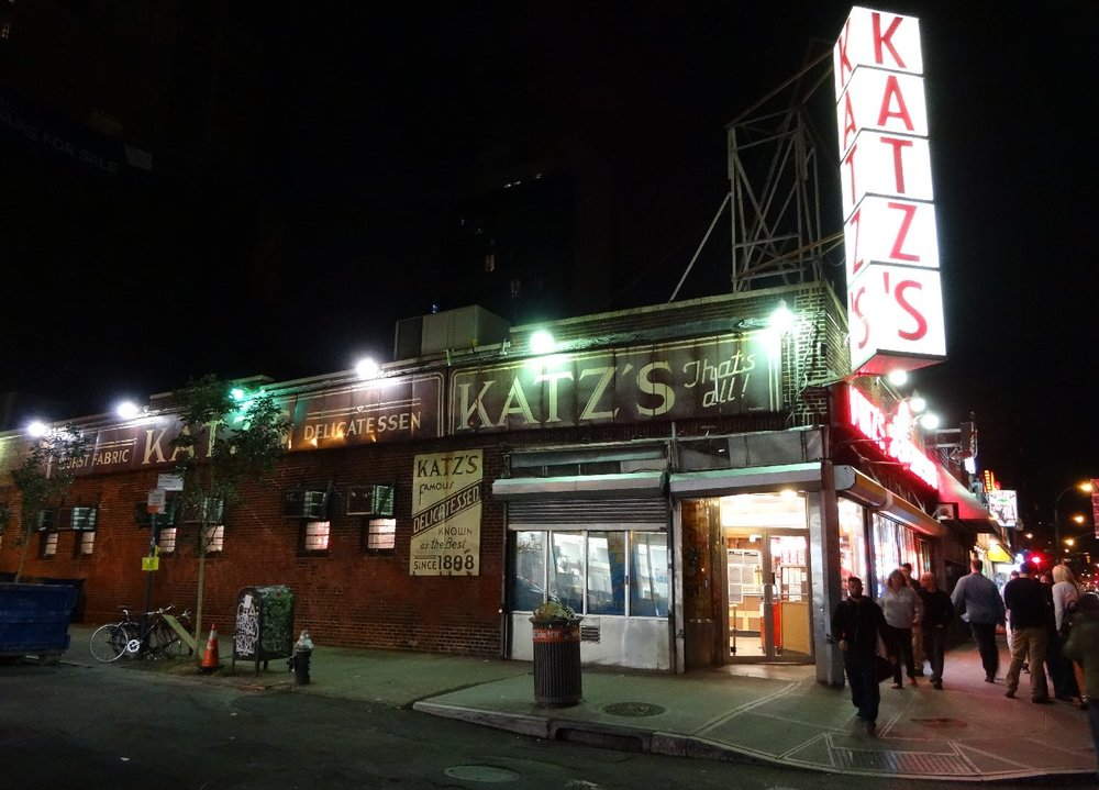 New York | Lower East side | Katz's delicatessen | Houston st | ©sandrine cohen