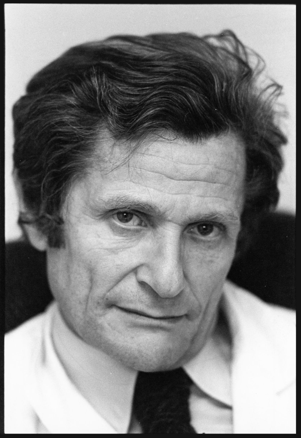 Leon Schwartzenberg - 1978 | Changer la mort | Hôpital Villejuif | Photo sandrine cohen
