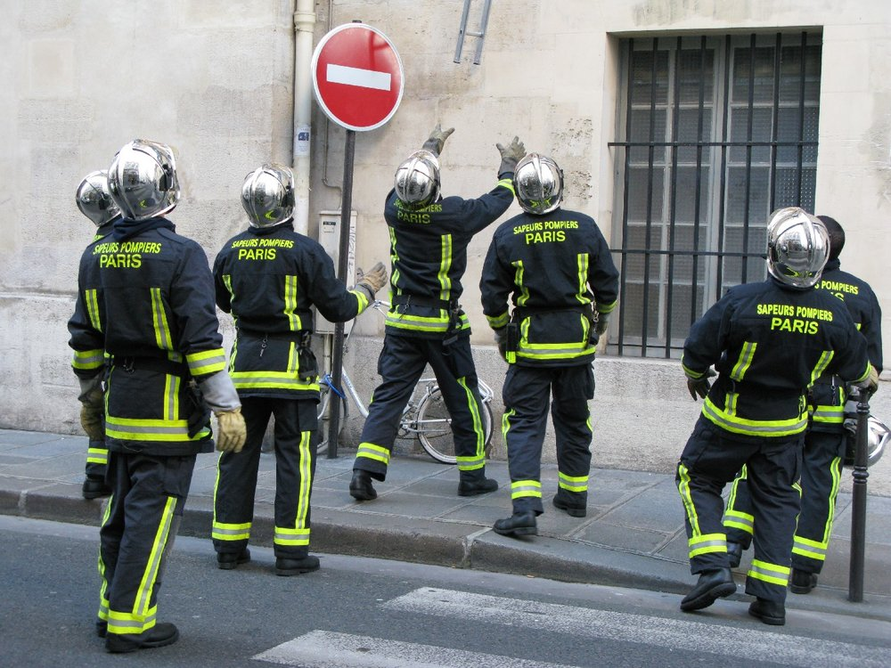 Paris | Pompiers de Paris | Firefighters of Paris | ©sandrine cohen