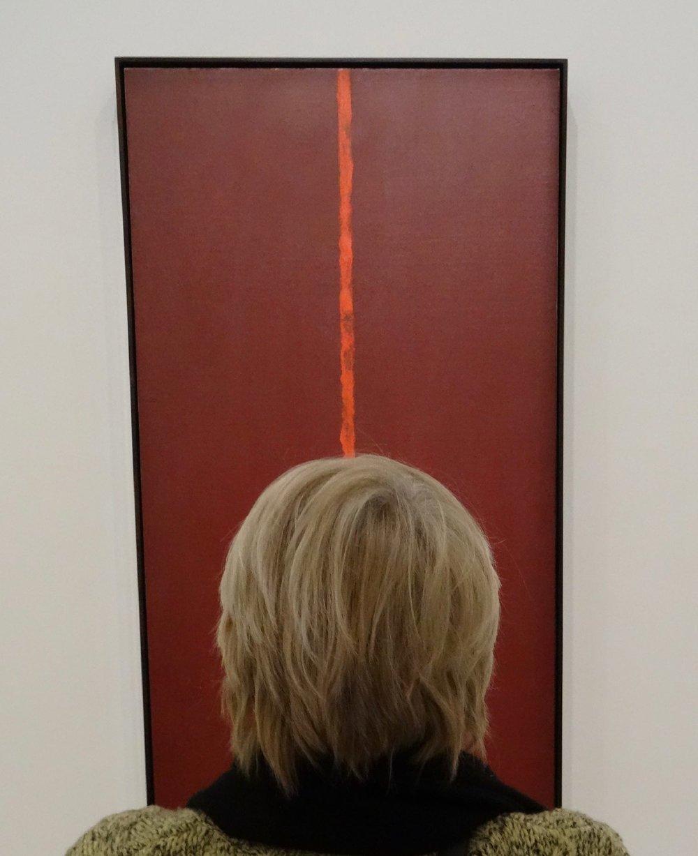 Fondation Louis Vuitton Paris | Head on line Rothko | Exhibition MOMA | Rothko | photo sandrine cohen