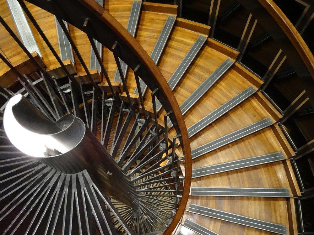 Le Grand Palais Paris | Wood Staircase | Design | Architecture | photo sandrine cohen