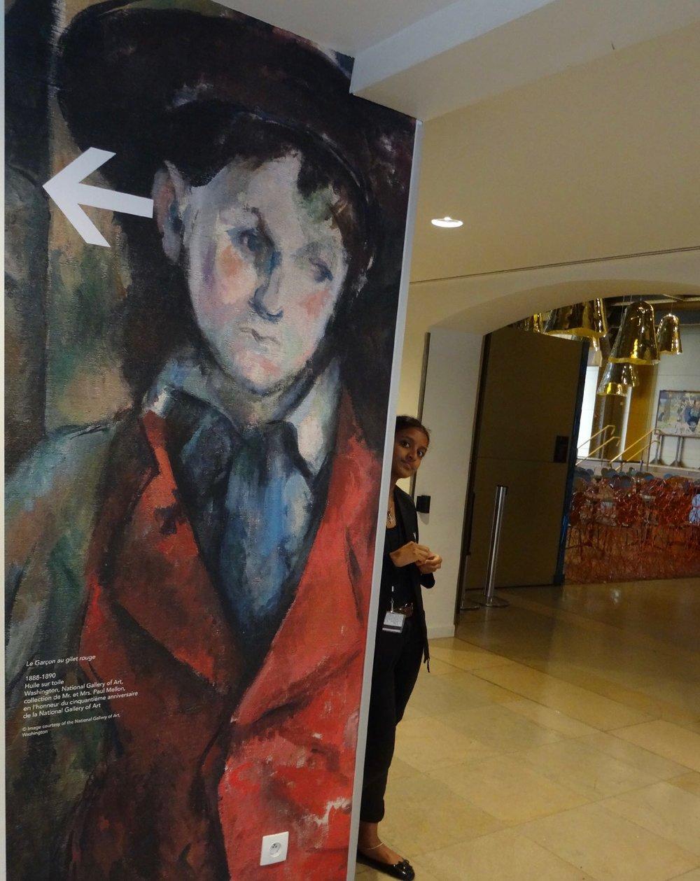Cezanne exhibition | Musée d'Orsay Paris | photo sandrine cohen