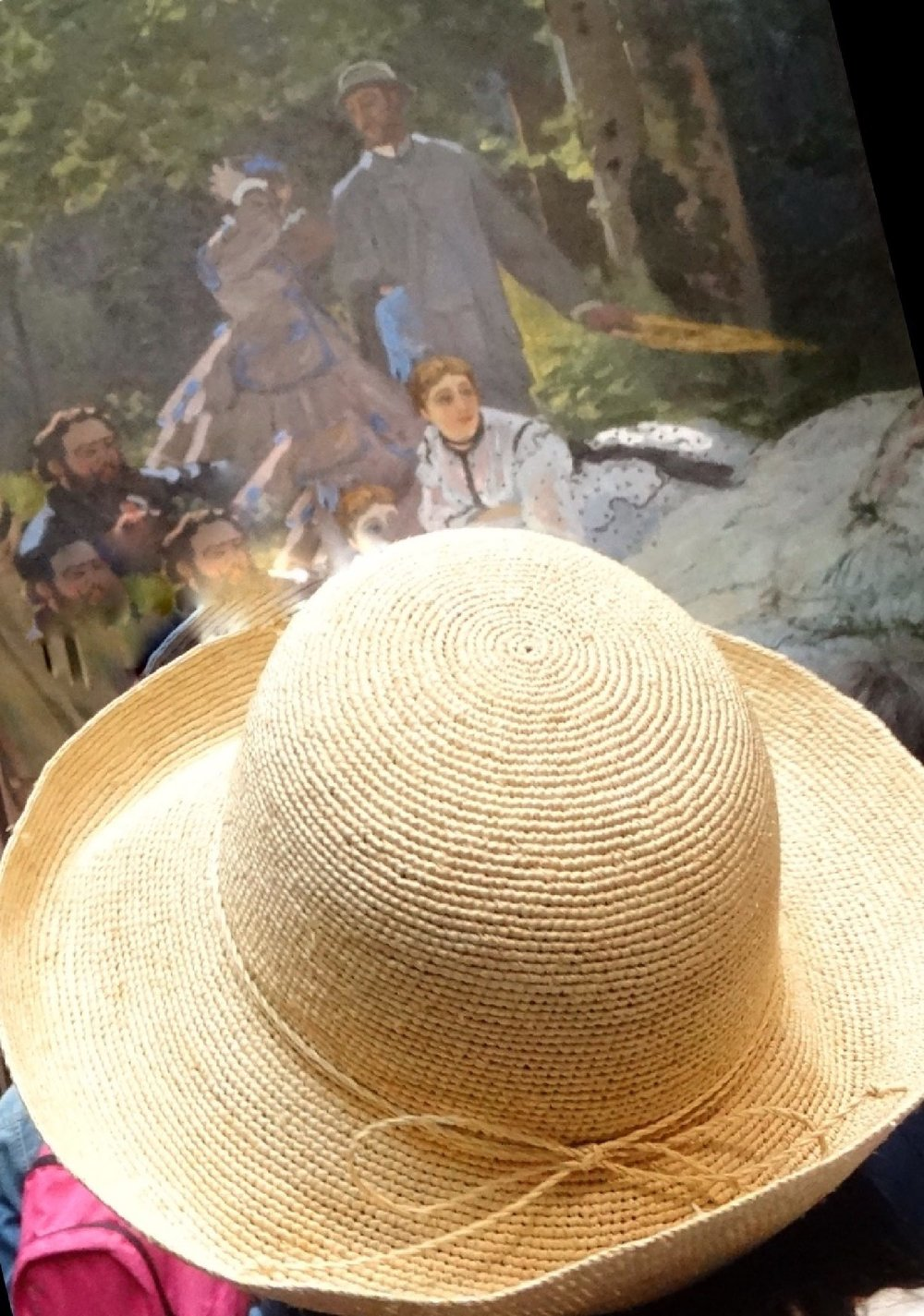 Chapeau impressionniste | Musée d'Orsay Paris | photo sandrine cohen