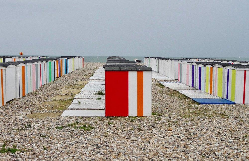 Les cabines de Karl Martens | Un été au Havre | Le Havre | photo sandrine cohen