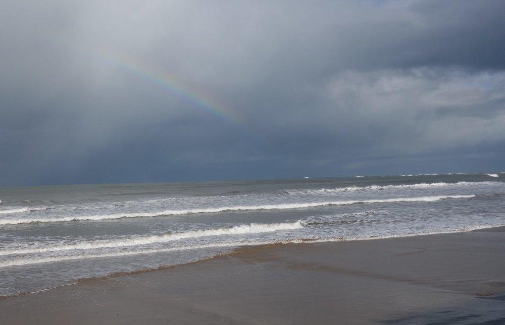 Hendaye | Basque coast | Rainbow | photo sandrine cohen