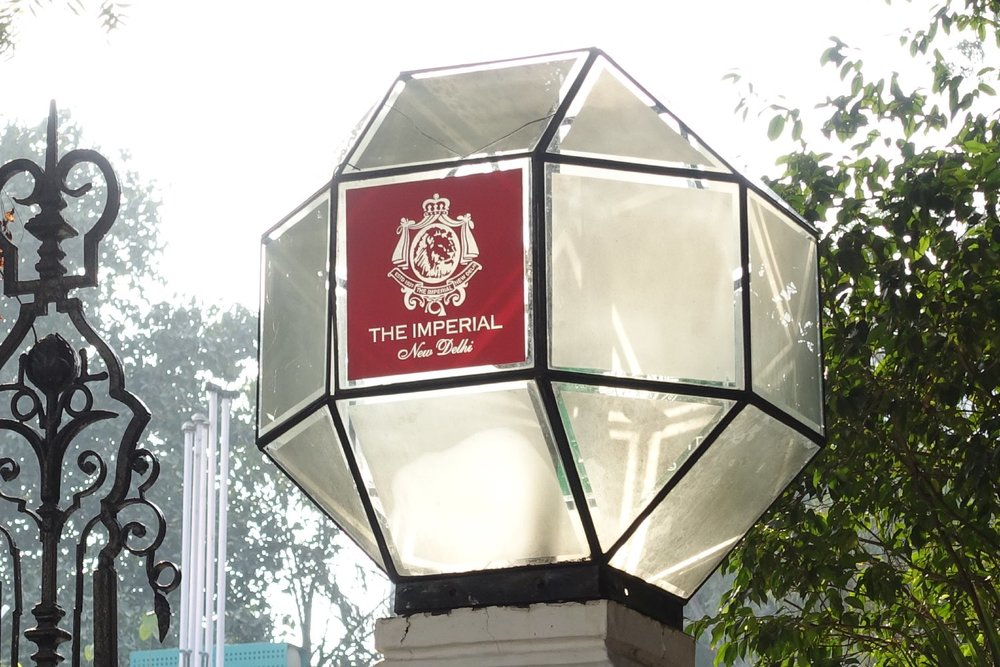 New Delhi | The Imperial Hotel | The Imperial New Delhi |  Entrance Imperial |Taj group | ©sandrine cohen