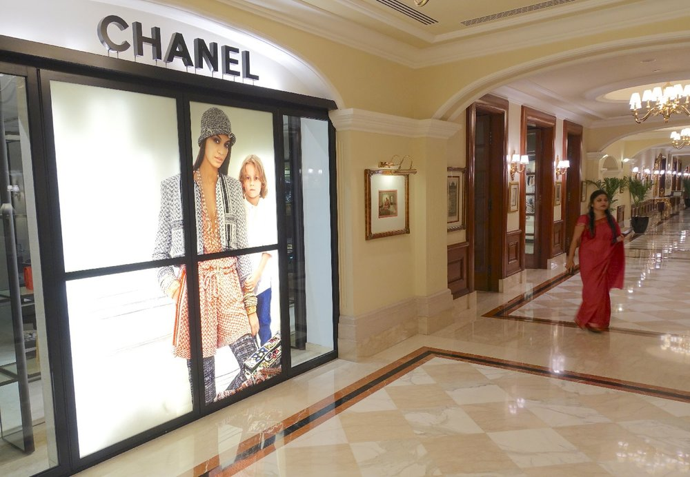 New Delhi | The Imperial Hotel | The Imperial New Delhi | Chanel shop | Taj group | ©sandrine cohen