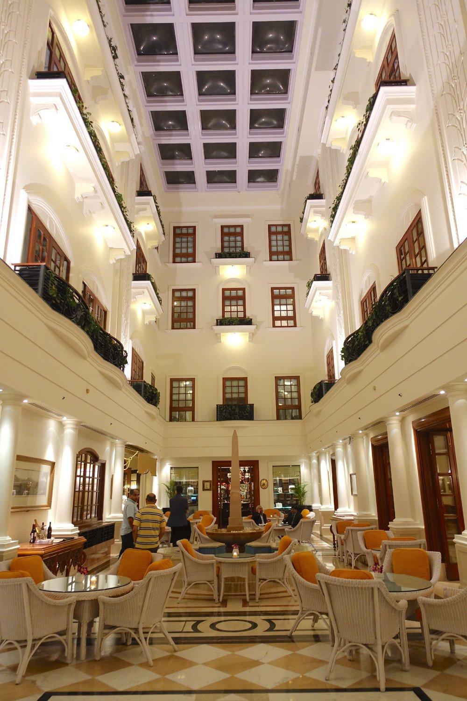New Delhi | The Imperial Hotel | The Imperial New Delhi | Living | Taj group | ©sandrine cohen