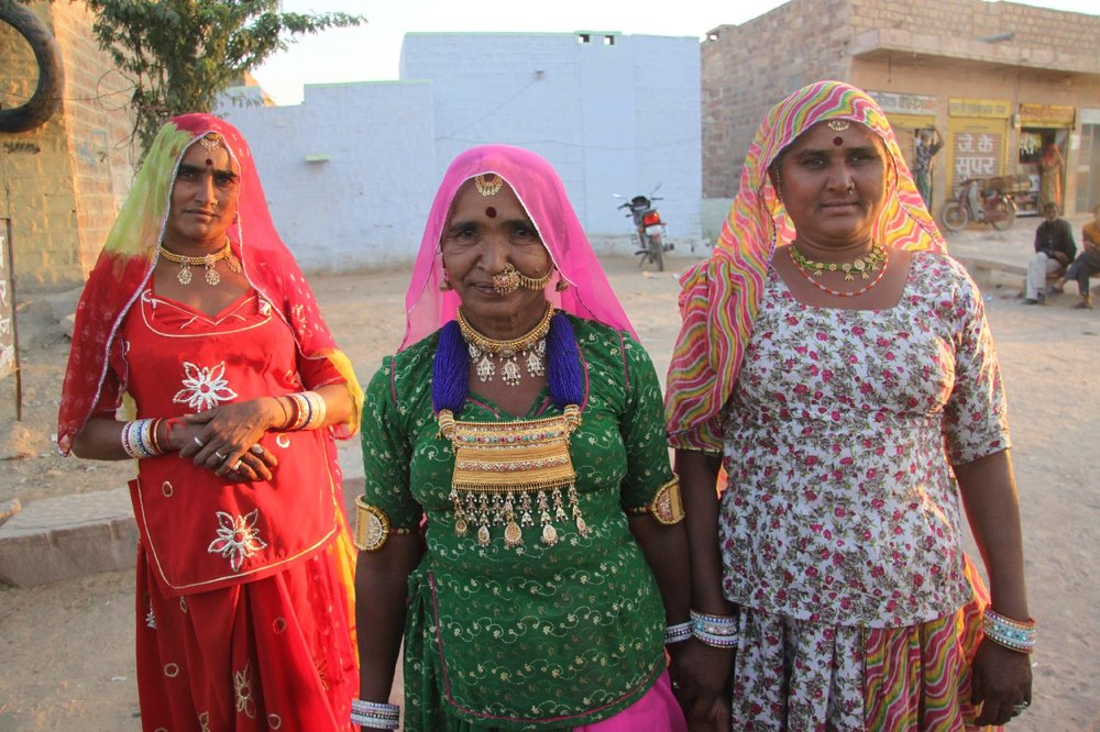 Jodphur 48 | Blue city | Rajasthan | Traditional women of Rajasthan | ©sandrine cohen