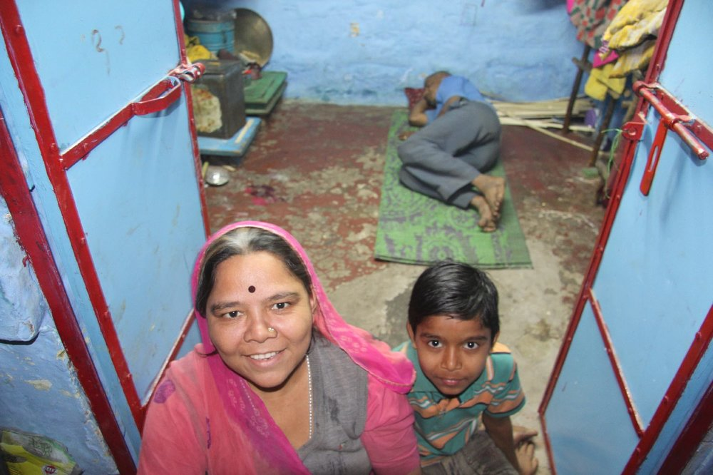 Jodphur 62 | Blue City | Rajasthan | Indian family at home | ©sandrine cohen