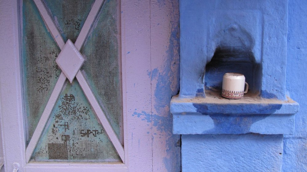 Jodphur 104 | Blue City | Rajasthan | cup of chai | ©sandrine cohen