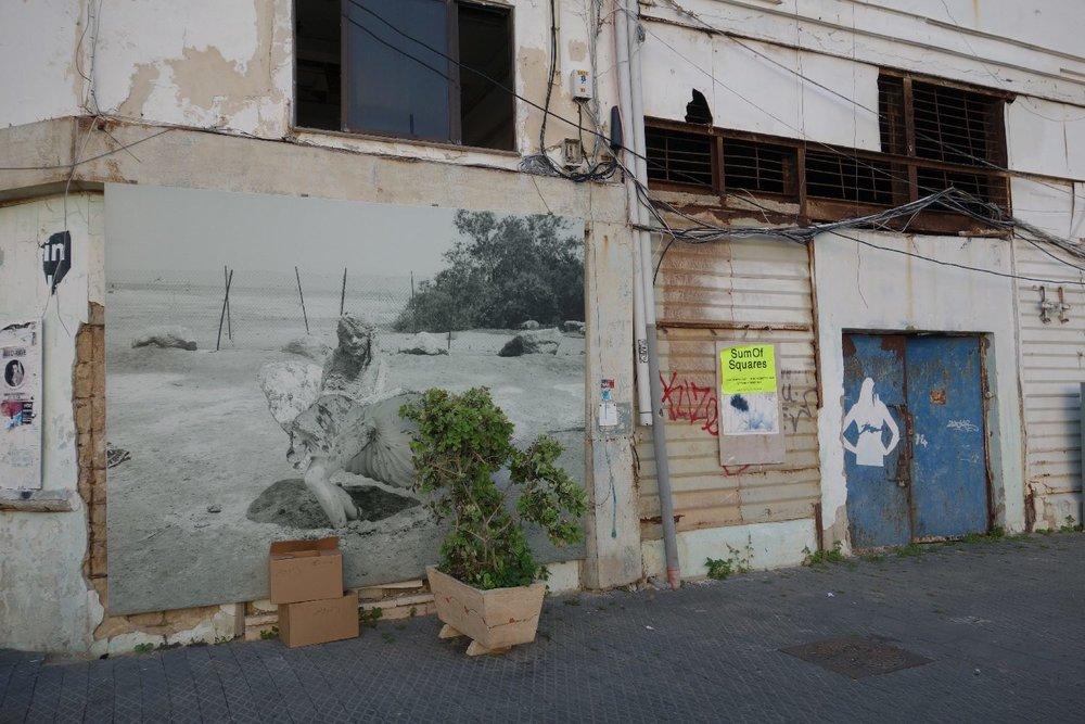 Jaffa Port | Photo on the wall | Streetphotography sandrine cohen