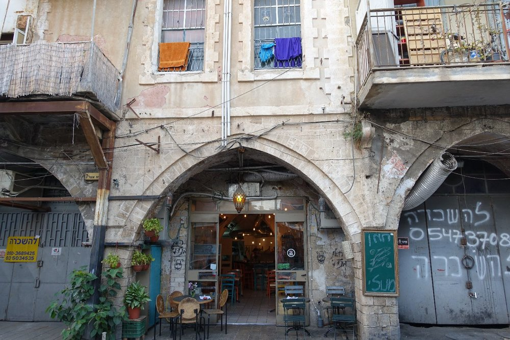 Jaffa | Flea market | Restaurant and arcade | Photo sandrine cohen