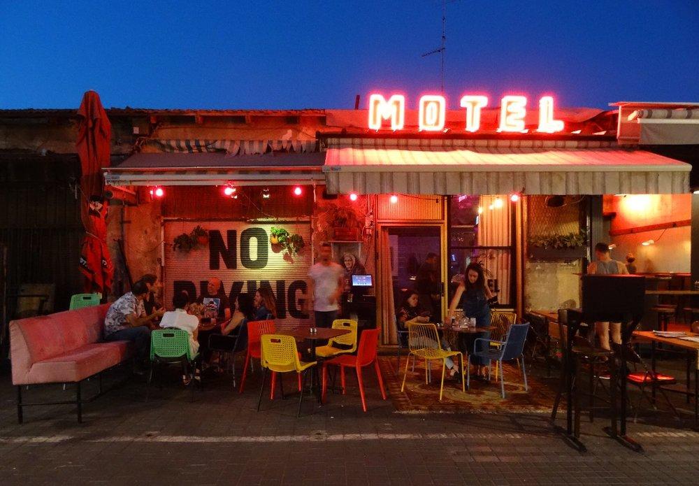 Jaffa | Motel restaurant | Flea market | photo sandrine cohen
