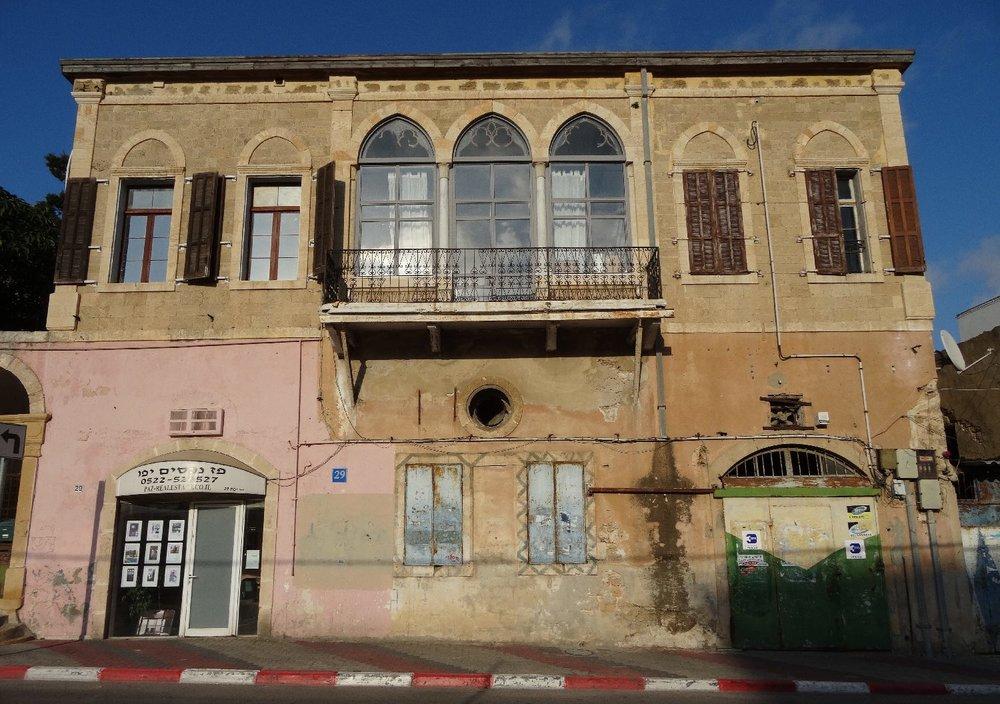 Jaffa | Palestinian mansion | streetphotography sandrine cohen