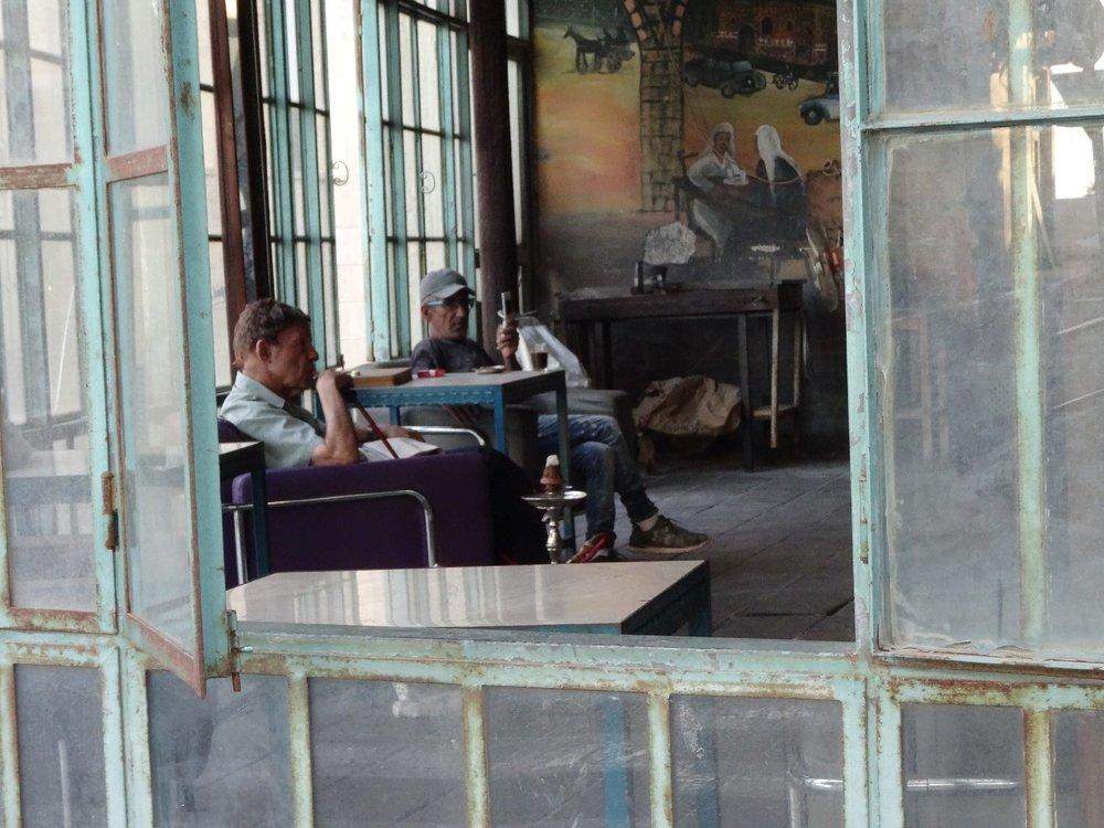 Jaffa | Chicha cafe at Ajami district 3 | photo sandrine cohen