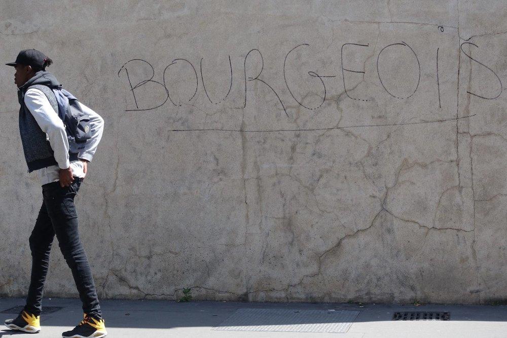 Bourgeois | street art | Banlieue de Paris | Seine Saint Denis 93 | streetphotography | ©sandrine cohen