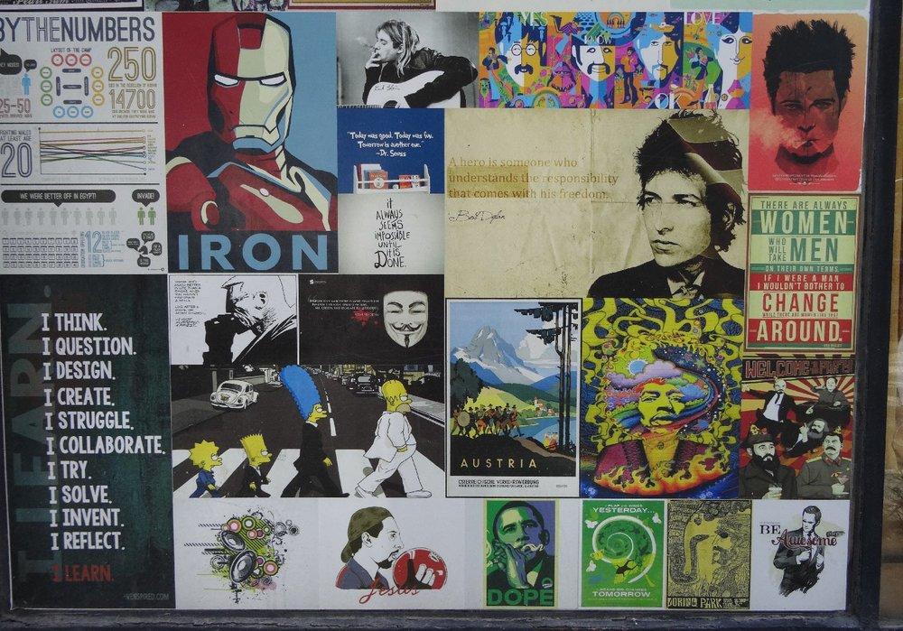 Haifa | Mix pop and rock | Bob Dylan | streetphotography sandrine cohen